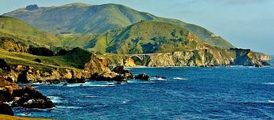 Photograph - Pacific Coast Panorama by Benjamin Yeager