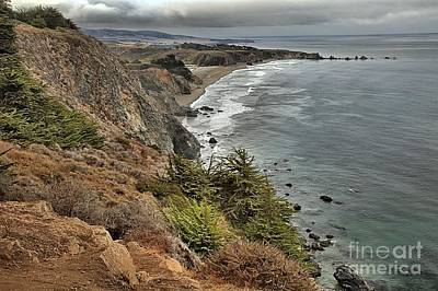 Photograph - Pacific Coast Storm Clouds by Adam Jewell