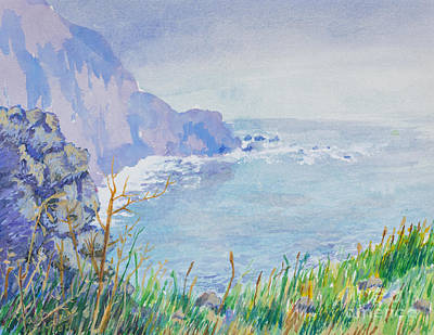 Painting - Pacific Coast by Walt Brodis