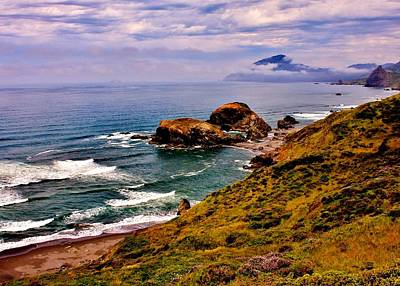 Photograph - Pacific Coastline by Benjamin Yeager