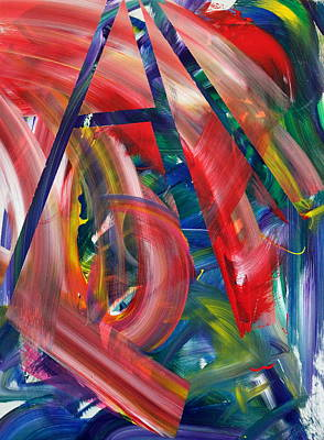 Bold Colours Painting - Pacific Edge by Richard Day