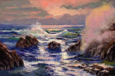 Painting - Pacific Evening by Frank Wilson