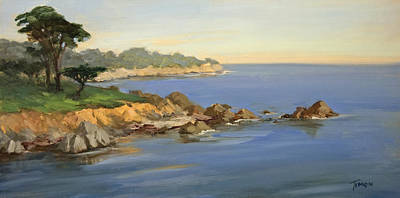 Painting - Pacific Grove Morning by Timon Sloane
