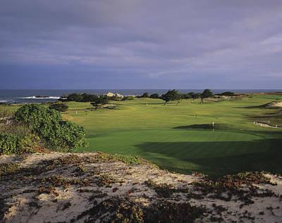 Photograph - Pacific Grove Municipal Golf Course by Stephen Szurlej