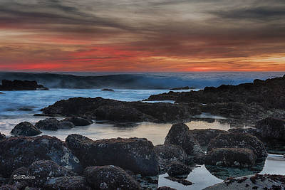 Central Coast Photograph - Pacific Grove Sunset by Bill Roberts