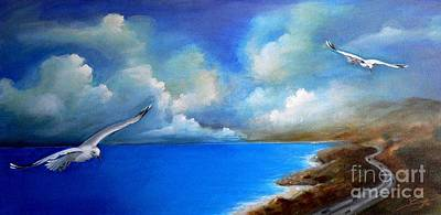 Painting - Pacific Highway 1 by S G