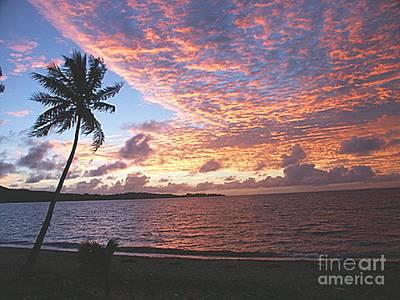 Island Art Digital Art - Pacific Island Dawn by Anthony Morretta