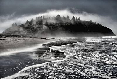 Photograph - Pacific Island Fog by Adam Jewell