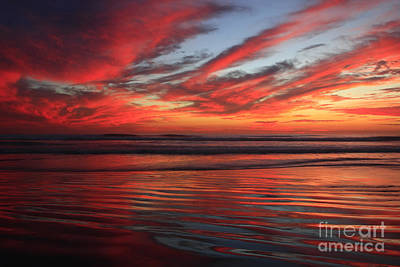 Photograph - Oceanside Reflections by John F Tsumas