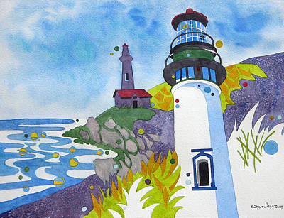 Painting - Pacific Lights by Sherri Bails
