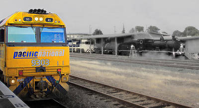 Photograph - Pacific National 9303 02 by Kevin Chippindall