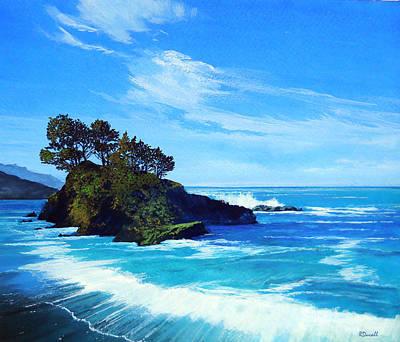 Robert Duvall Painting - Pacific Northwest Coast by Robert Duvall