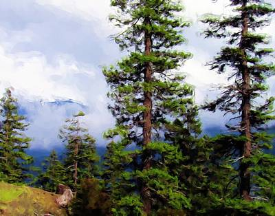 Olympic National Park Painting - Pacific Northwest by Jenny Hudson
