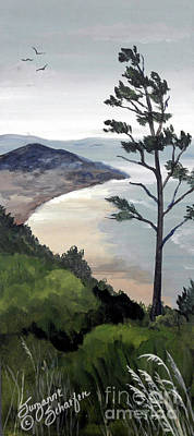 Painting - Pacific Northwest Soft Ocean Breezes 2 by Suzanne Schaefer