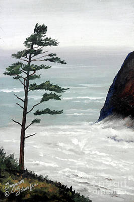 Painting - Pacific Northwest Soft Ocean Breezes by Suzanne Schaefer