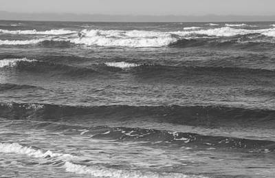 Photograph - Pacific Ocean Black And White by Tikvah's Hope