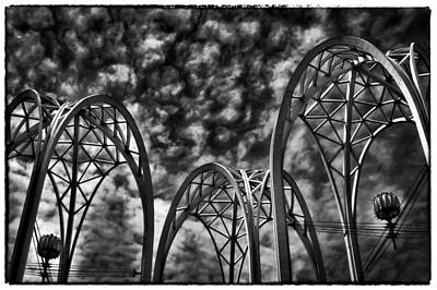 Hdr Photograph - Pacific Science Center - Seattle Washington by David Patterson
