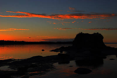 Photograph - Pacific Shores Sunset by Randy Hall