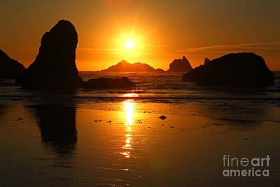 Photograph - Pacific Sunset by Bill Singleton
