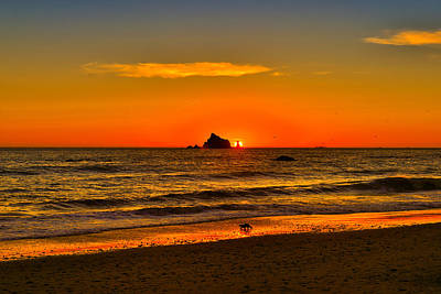 Photograph - Pacific Sunset by Greg Norrell