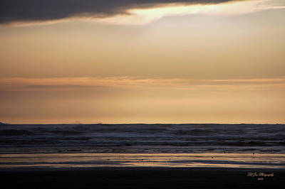 Photograph - Pacific Sunset by Jeanette C Landstrom