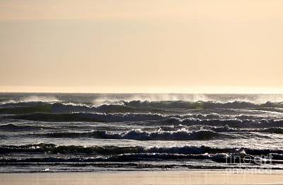 Photograph - Pacific Waves by Erica Hanel