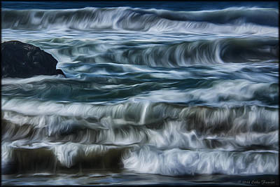 Photograph - Pacific Waves by Erika Fawcett