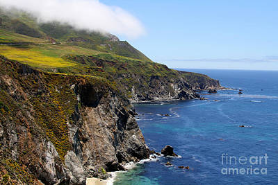 Photograph - Pacifica - Big Sur By Diana Sainz by Diana Raquel Sainz