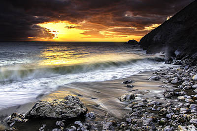 Pacifica Coast Print by PhotoWorks By Don Hoekwater