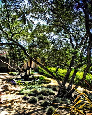 Photograph - Pacifica Courtyard by Danuta Bennett