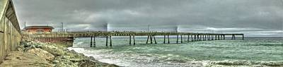 Photograph - Pacifica Municipal Fishing Pier 6 by SC Heffner