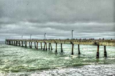 Pacifica Municipal Fishing Pier 7 Art Print