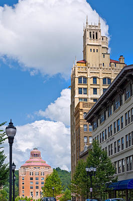 Photograph - Pack Square In Downtown Asheville by Melinda Fawver