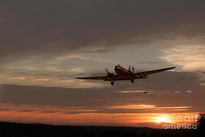 Aviation Digital Art - Package Delivered by J Biggadike