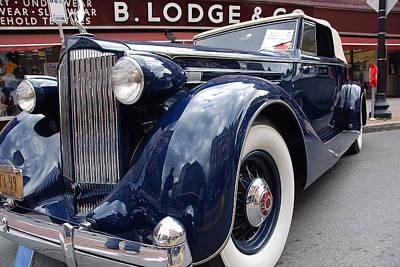 Photograph - Packard 1207 Convertible 1935 by John Schneider