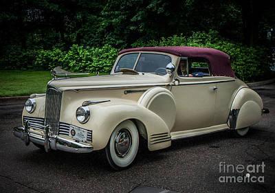 Photograph - Packard 42 by Ronald Grogan