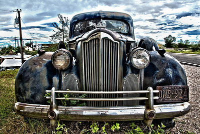 Photograph - Packard by Carol Erikson