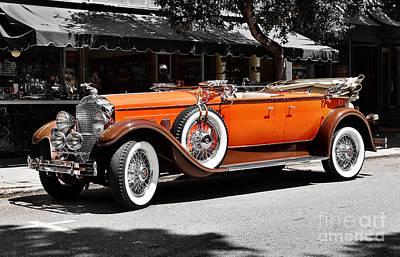 Photograph - Packard Elegance by Gabriele Pomykaj