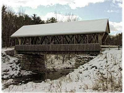 Photograph - Packard Hill Bridge by Mike Martin