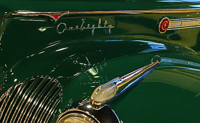 Photograph - Packard One Eighty by Judy Vincent