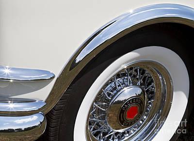 Photograph - Packard Wheel by Dennis Hedberg