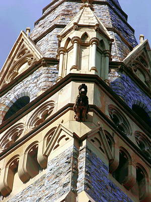 Photograph - Packer Memorial Church Detail by Jacqueline M Lewis