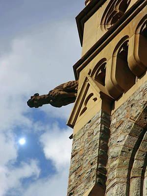 Photograph - Packer Memorial Church Gargoyle by Jacqueline M Lewis