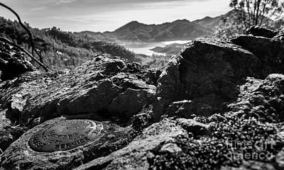 Photograph - Packers Overlook Monochrome by Along The Trail