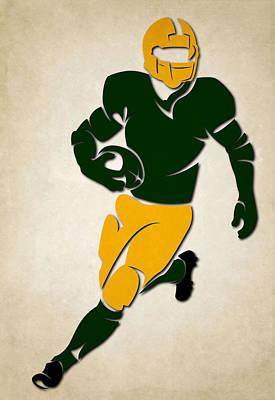Packers Shadow Player Art Print by Joe Hamilton