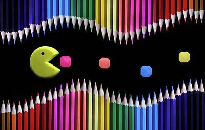Pencil Photograph - Packman by Victoria Ivanova
