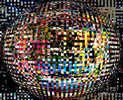Pacman Digital Art - Pacman Gone Awry by Marian Bell