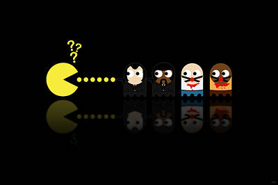 Tarantino Digital Art - Pacman Pulp Fiction by NicoWriter