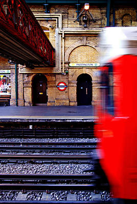 Paddington Station Tube Art Print
