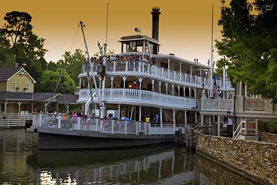 Paddle Boat Walt Disney World Art Print